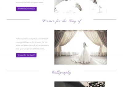 Carolyn Verdi Boutique Wedding planning services