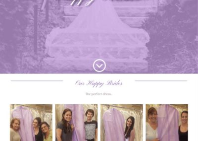 Carolyn Verdi Boutique Happy brides page