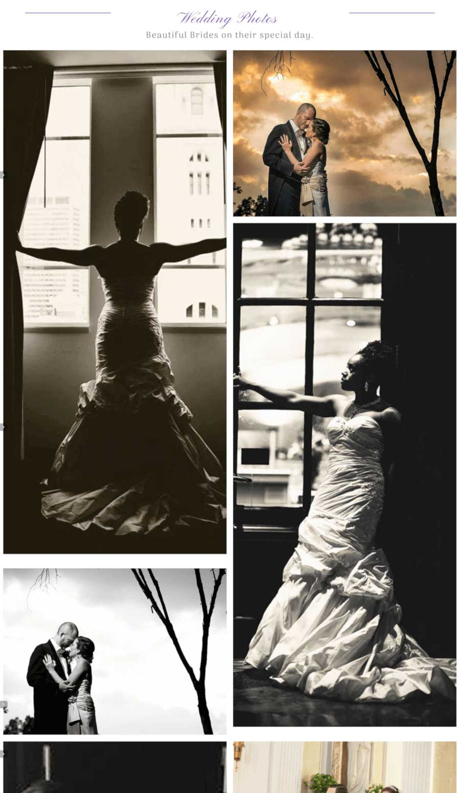 Carolyn Verdi Boutique Wedding Photos Page