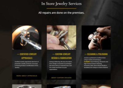 D'Antonio and Klein Jewelers In store services