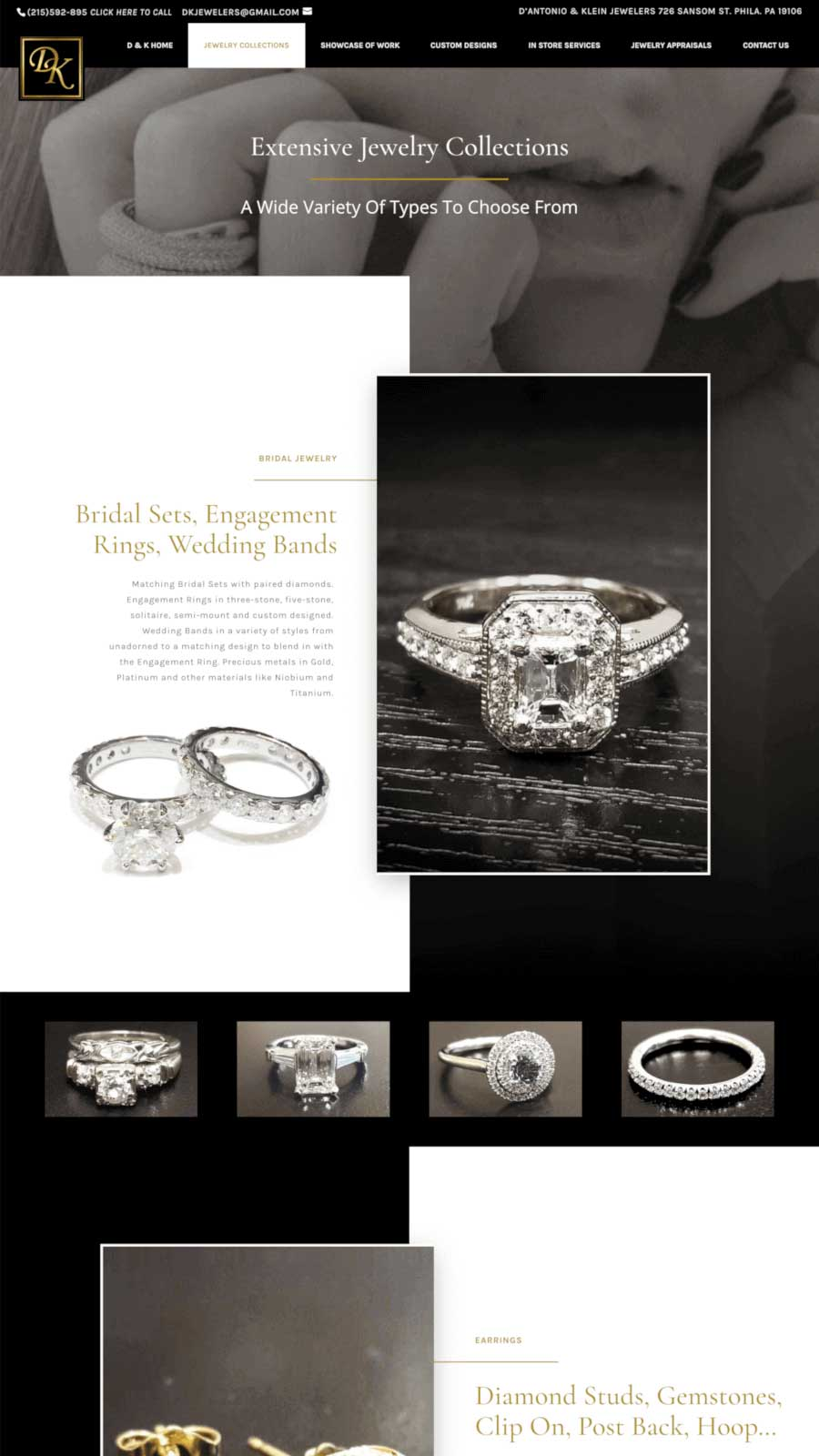 D'Antonio & Klein Jewelry Collections