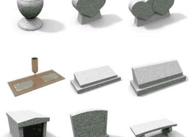 3D models created for categories