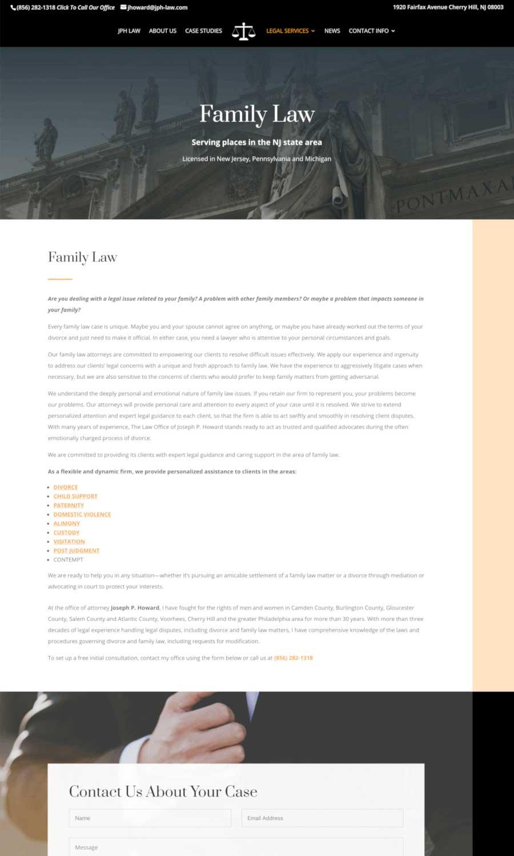 Joseph P Howard Law Office - Family Law