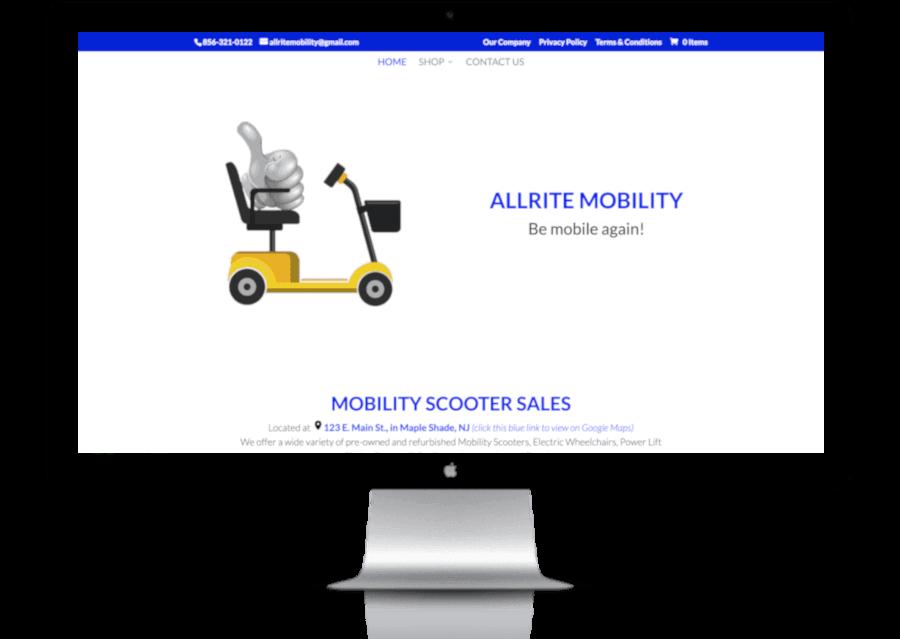 Display - Allrite Mobility